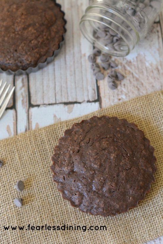 older gluten free brownie hero photos