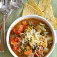 Country Hamburger Vegetable Soup