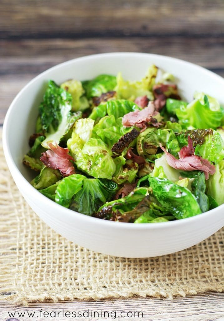 Brussels Sprouts and Pastrami https://www.fearlessdining.com
