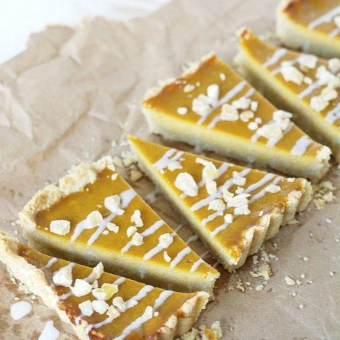 Gluten Free Maple Ginger Butternut Squash Tart