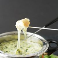 Gluten Free Spinach Cheese Fondue