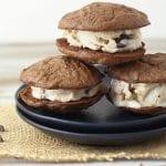 Gluten Free Ice Cream Chocolate Cookie Sandwiches