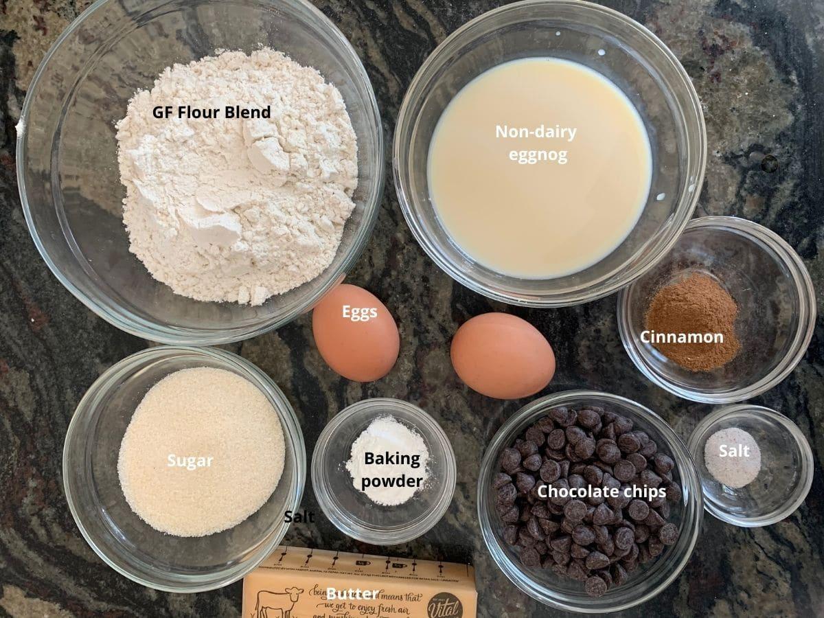 eggnog scones ingredients