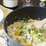 Easy Creamy One Pot Acorn Squash Risotto