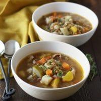 Smokey Lentil Vegetable Soup