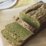 Gluten Free Matcha Green Tea Banana Bread