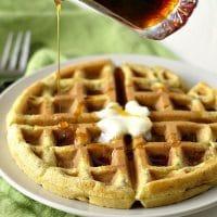 Healthier Gluten Free Waffle Mix Hack
