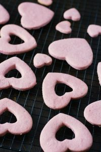 Heart Cookies Cooling image