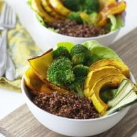 Buffalo Quinoa Vegetable Bowls