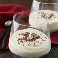 White Chocolate Mocha Mousse