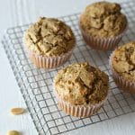 Healthy Gluten Free Peanut Butter Muffins