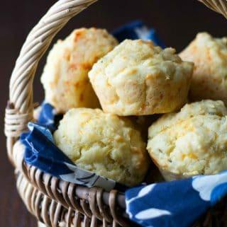 gluten free cheddar muffins