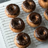 Gluten Free Chocolate Orange Donuts