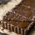 Easy Chocolate Gluten-Free Tart with Caramel