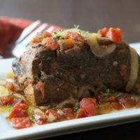 Quick and Easy 5 Ingredient Slow Cooker Pot Roast