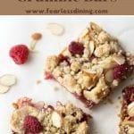 raspberry crumble bars pinterest collge