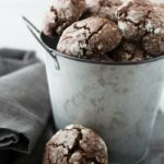 The Best Gluten Free Chocolate Crinkle Cookies