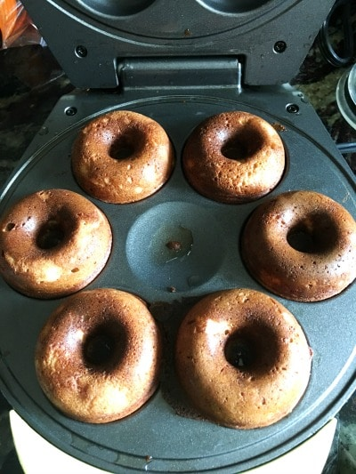 donut in a donut maker
