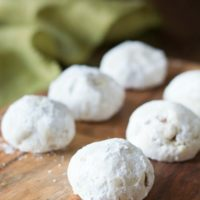 Gluten Free Russian Tea Cookies
