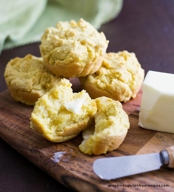 Gluten free cornbread muffins image