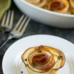 Irresistible Roasted Potato Bacon Roses