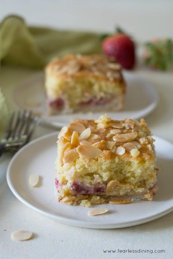 Fresh Fruit Layer Cake