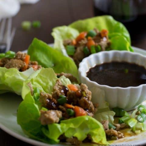 Gluten Free Lettuce Wraps
