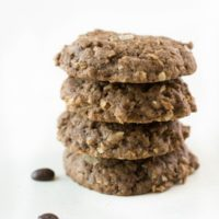 Gluten Free Coffee Flour Coconut Cookies