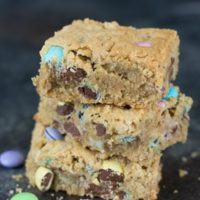 Gluten Free Peanut Butter Cookie Bars