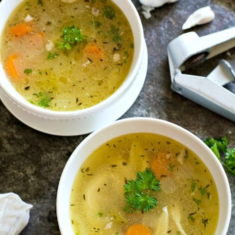 Grandma's Homemade Chicken Soup