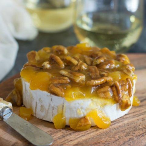 Mango Pecan Brie