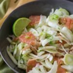 Fresh Pink Grapefruit Fennel Salad