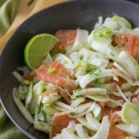 Pink Grapefruit Fennel Salad