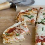 Easy Gluten Free Grilled Pizza Crust