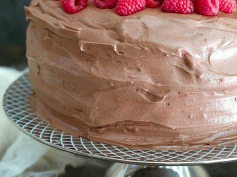 Terrific Gluten Free Chocolate Layer Cake Recipe With Raspberry Filling Personalised Birthday Cards Arneslily Jamesorg