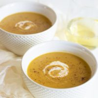 Quick and Easy Vegan Butternut Squash Soup