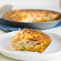 Gluten Free Quiche with Sausage