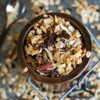 Cinnamon Granola - Basic Gluten Free Granola Recipe