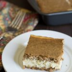 Gluten Free Gingerbread Cheesecake Bars