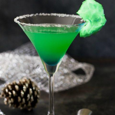Grinch Vodka Cocktail