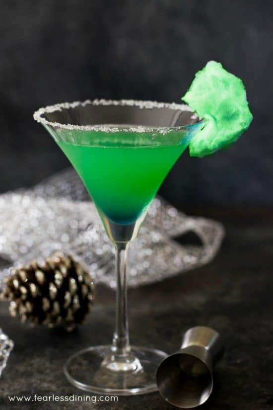 The Holiday Grinch Cocktail