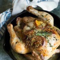 Roasted Herb Chicken with Mandarin Orange