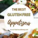 pinterest collage pin of appetizer photos