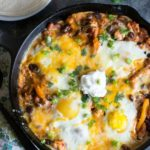 Ground Turkey Chili Shakshuka