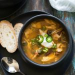 Quick and Easy Mexican Style Chicken Soup