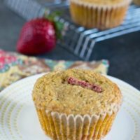 Easy Healthy Paleo Strawberry Muffins