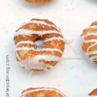 Dairy Free Gluten Free Lemon Donuts