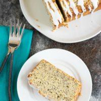 Moist Gluten Free Lemon Poppy Seed Cake