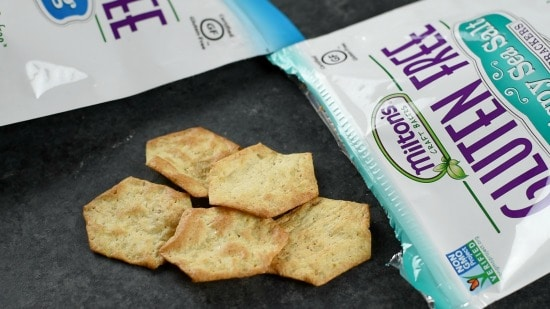 Milton's Gluten Free Sea Salt Crackers