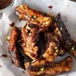Sweet and Spicy Barbecue Grilled Pork Ribs